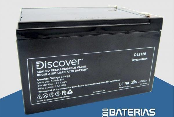 D12120 Batería de Servicio - AGM - Todo Baterías Litio