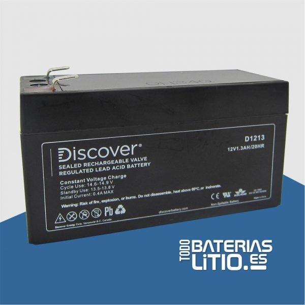 D1213 Batería de Servicio - Todo Baterías Litio