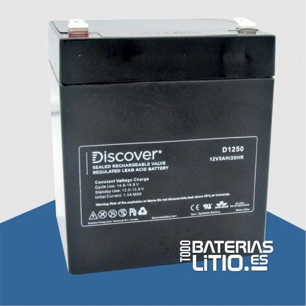 D1250 Batería de Servicio - Todo Baterías Litio