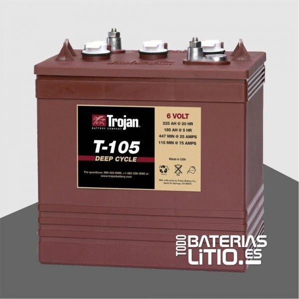Trojan Monoblock T-105 Todo Baterias Litio