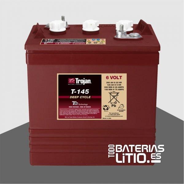 Trojan Monoblock T-145 Todo Baterias Litio