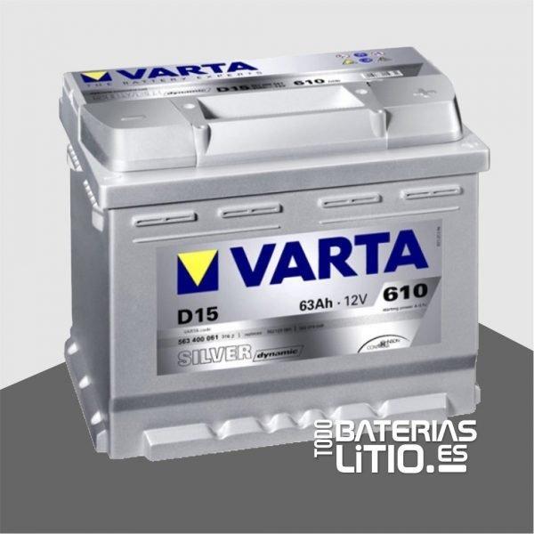 Varta D15 Todo Baterias Litio