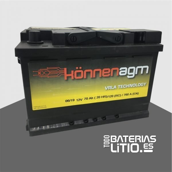 SST070 - TODO BATERIAS LITIO