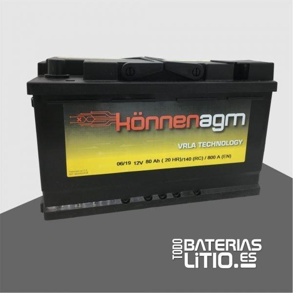 SST080 - TODO BATERIAS LITIO