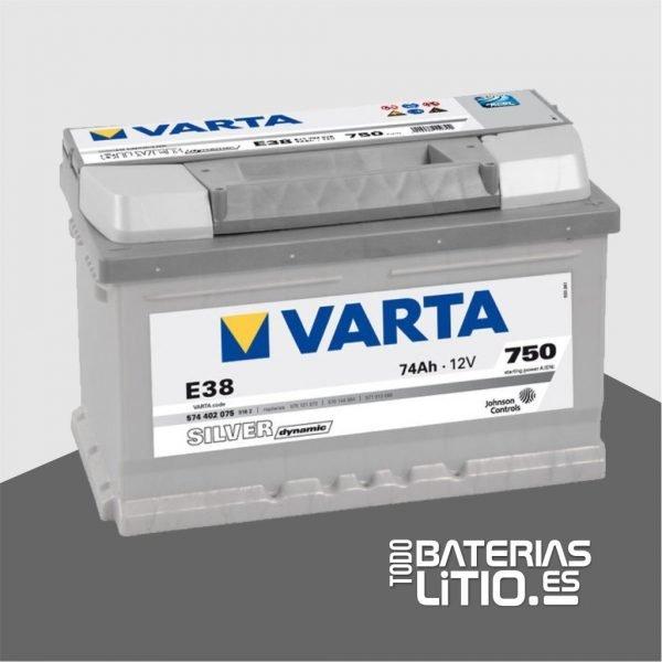 VARTA E38 - TODO BATERIAS LITIO