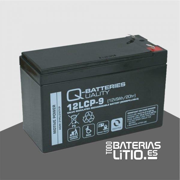 Batería W079T0312, 9 Ah, 12V, AGM