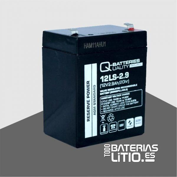 W101C0312 QB-12LS-2.9_01- TODO BATERIAS LITIO