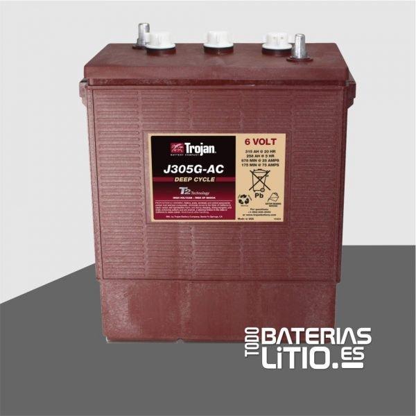 bateria-para-carro-de-golf-trojan-j305g-ac - TODO BATERIAS LITIO