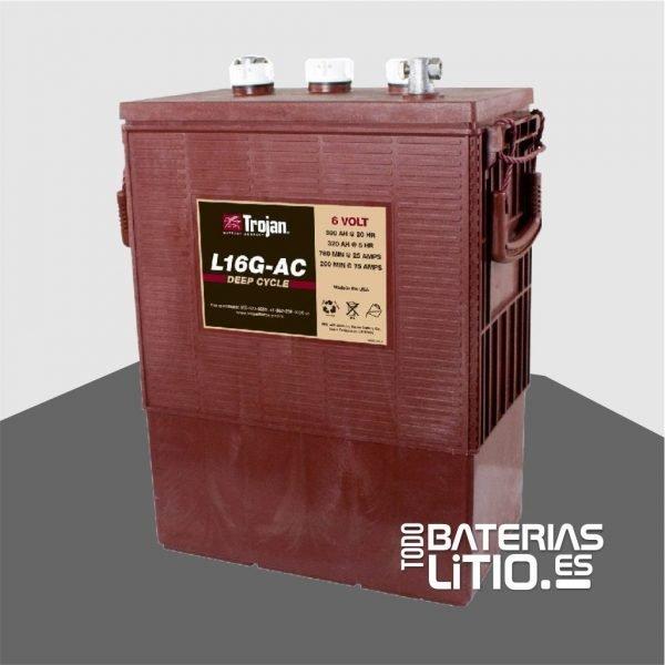 Batería L-16-G, 390 Ah, 6V, MONOBLOCK