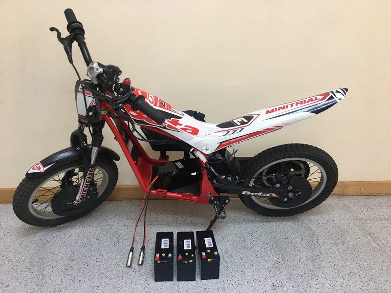 Cambiar baterías a moto electrica - Todo Baterías de Litio