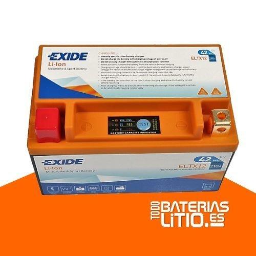 ELTX12 2 - EXIDE - Baterías para motocicletas - TODO BATERIAS LITIO