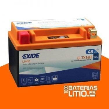 ELTX14 - EXIDE - Baterías para motocicletas - TODO BATERIAS LITIO