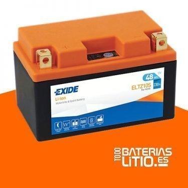 ELTZ10S - EXIDE - Baterías para motocicletas - TODO BATERIAS LITIO