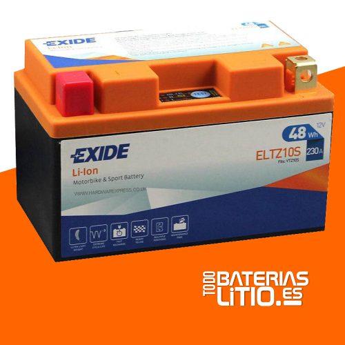 ELTZ10S 3 - EXIDE - Baterías para motocicletas - TODO BATERIAS LITIO