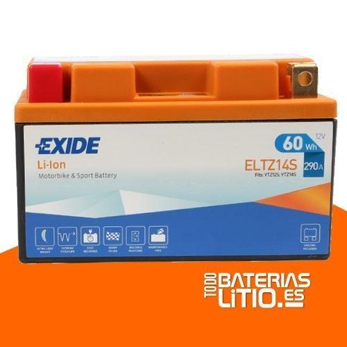 ELTZ14S 2 - EXIDE - Baterías para motocicletas - TODO BATERIAS LITIO
