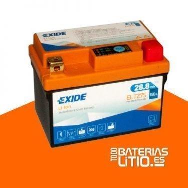 ELTZ7S EXIDE - Baterías para motocicletas - TODO BATERIAS LITIO