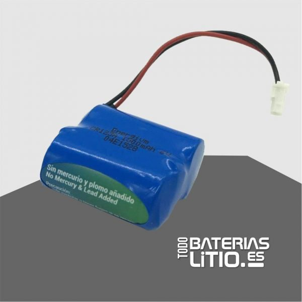 PACK LITIO 6v 1500 mah -TODO BATERIAS LITIO